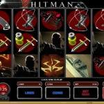 Элементы геймплея в автомате Hitman с сайта Columbus Casino