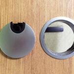 Основные преимущества заглушек для отверстий под провода